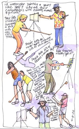 golf-watercolor