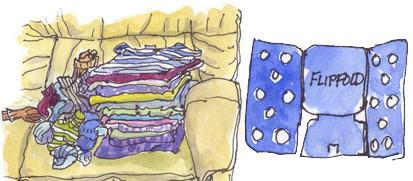 laundry flip