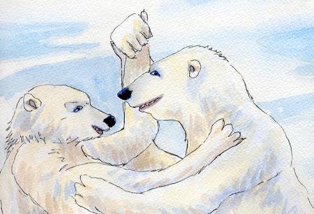 Polar Bears Dancing