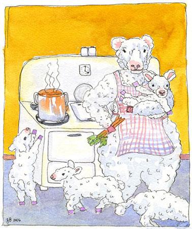 Sacrifice Sheep Lambs
