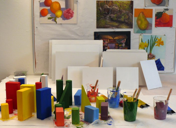 Painting Blocks to Paint Blocks