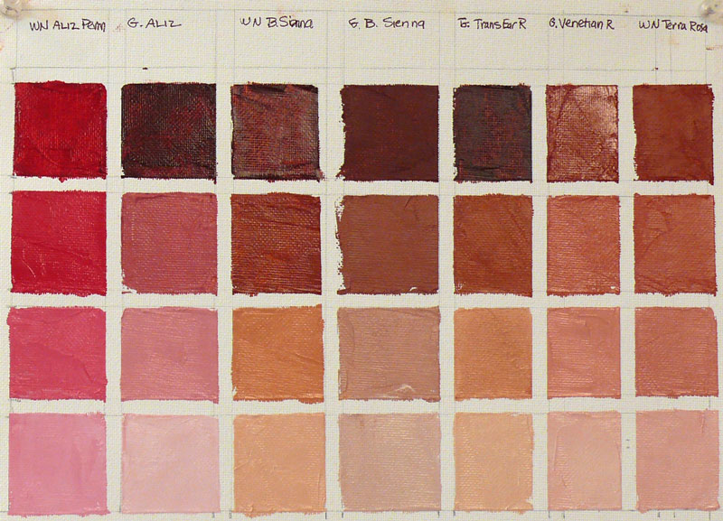 What Color Is Sienna >> Back To Basics Color Vocabulary Jana Bouc Artist
