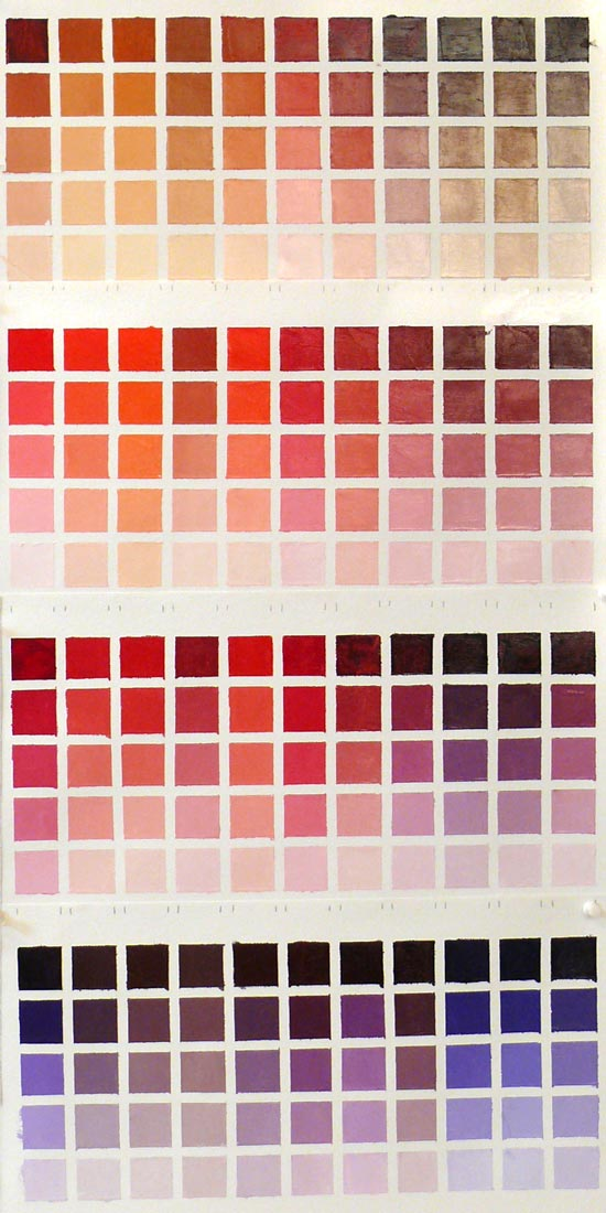 Infinite Color Joy Charting My Palette Jana Bouc Artist