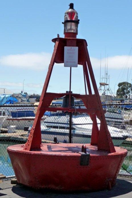 Photo of the buoy