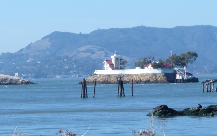 Photo of East Brother Island from Pt. Molate
