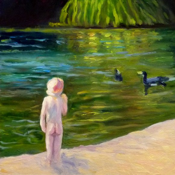 Little Girl at Lake Temescal (Revised)