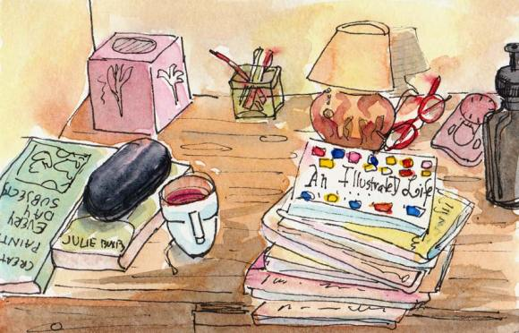 Bedside Table Morning