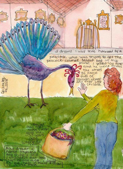Peacock Harassment Dream