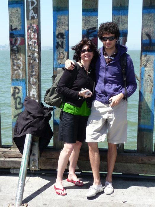 Casey & Paul on Berkeley Pier