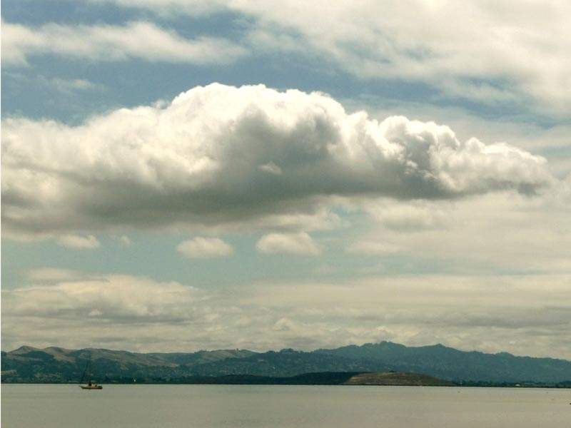 Cloudy Day on the Bay, View from China Camp | Jana Bouc ...