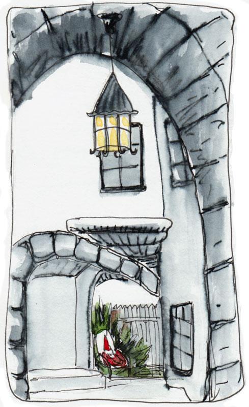 Normandy Village Gnome house