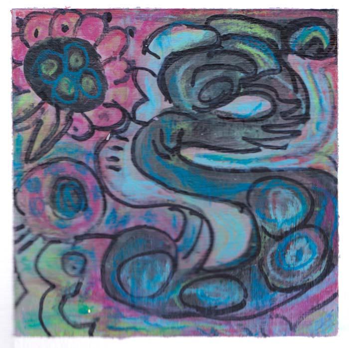 #9: Finger Painting & Mixed Media