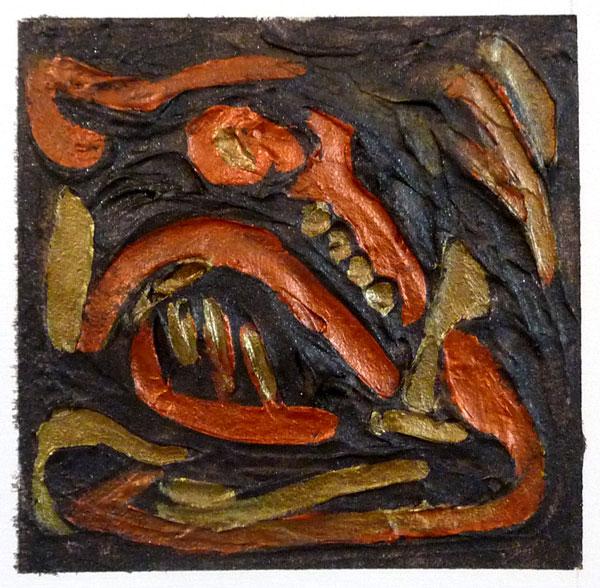 #12: Painted Gel Relief