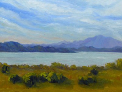 View of Mt. Tam from Pinole - SOLD