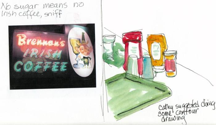 Condiments and Irish Coffee