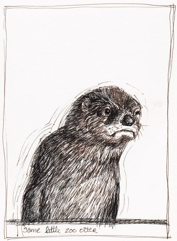 Otter, Sepia & Black Pitt Artist Pens