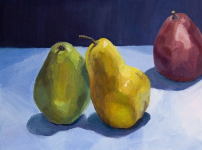 Pears-Original painting