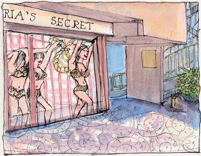 Victoria's Secret Window, Embarcadero