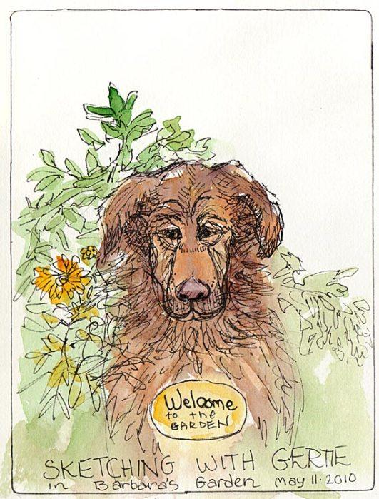 Gertie the Garden Greeter