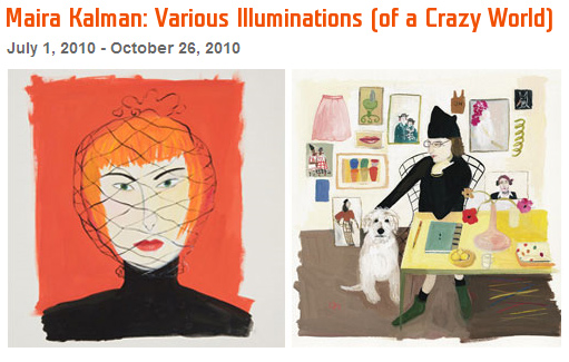 Maira Kalman at Contemporary Jewish Museum, SF