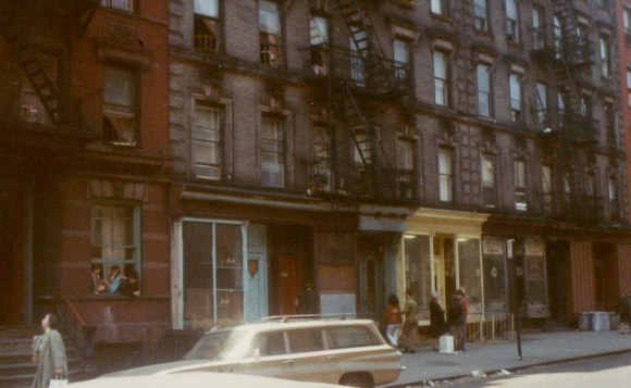 East 13th Street between Ave. A & B, 1969