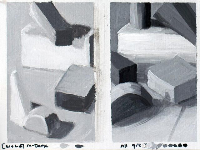 Value Study with blocks #2