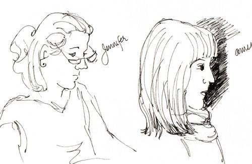 Sketching Sketchers #1