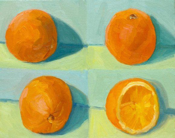 Orange four times @ 10 minutes each