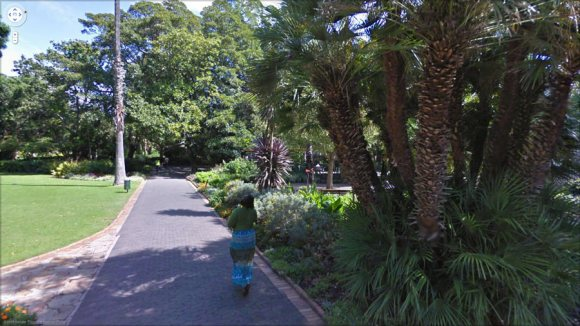 Google Streetview image: Capetown