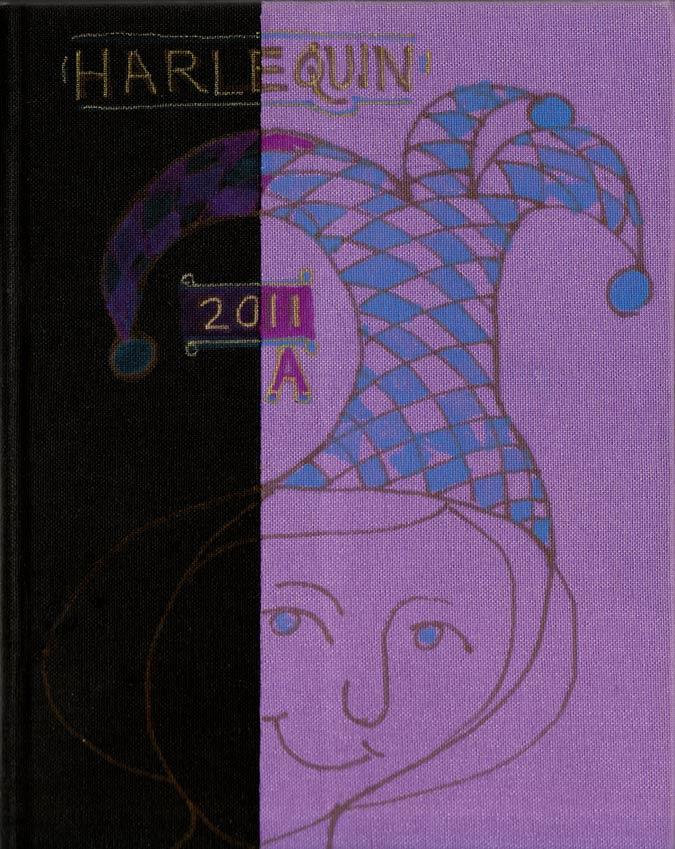 Harlequin cover, Sketchbook 2011 A
