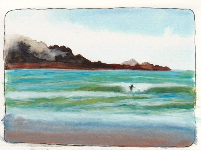 Watercolor & Gouache preliminary study