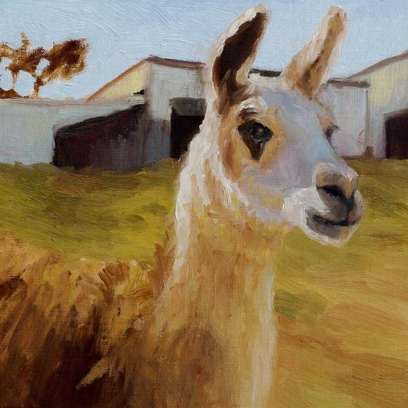 Lama attempt #1, but drawing wrong