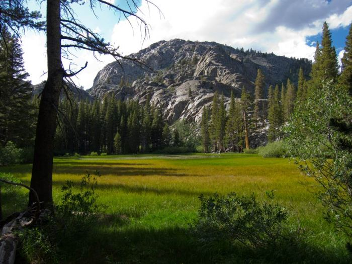 On the John Muir Trail in High Sierras, photo copyright Robin Bouc