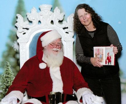 Santa James and I