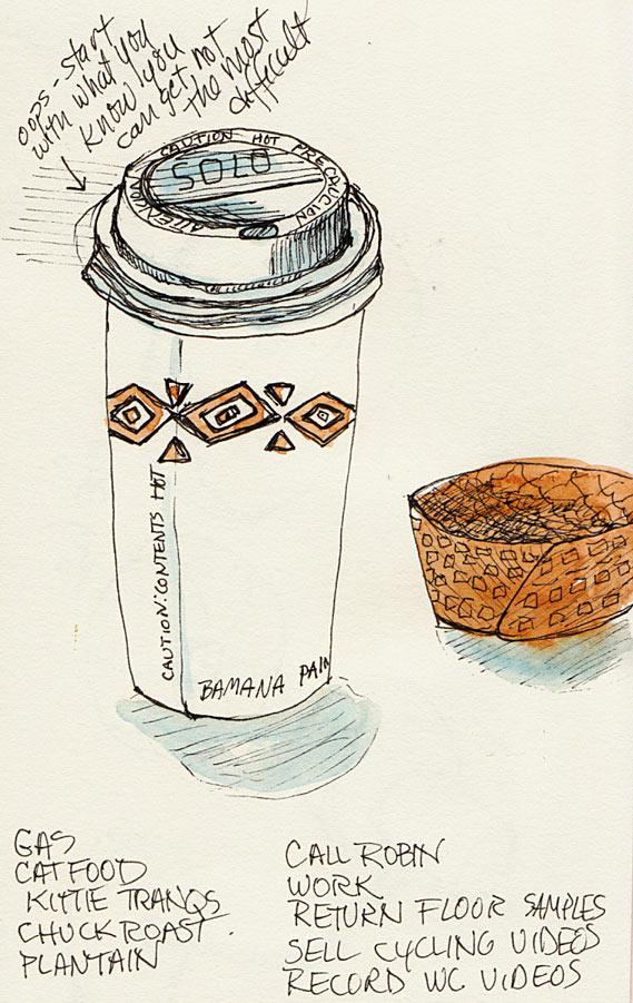 Coffee with Pre-Trip To Do List