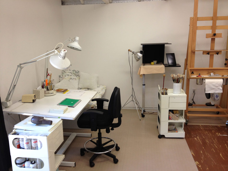 My New Remodeled Art Studio Tour At Last Jana Bouc