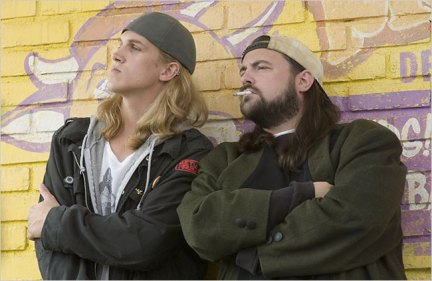 Jay and Silent Bob in Clerks