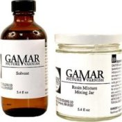 The ORIGINAL 2-part Gamvar Picture Varnish