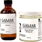 The ORIGINAL 2-part Gamvar Picture Varnish