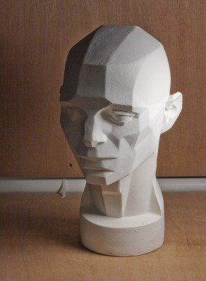 Planes of the Head Plaster Cast