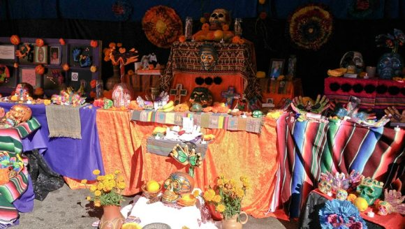 One of the amazing altars at the festival