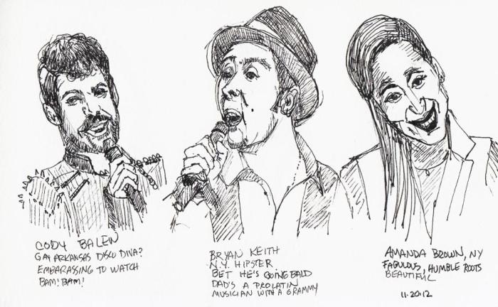 The Voice: Cody, Bryan & Amanda