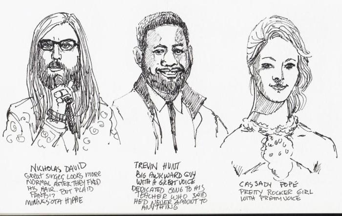 The Voice: Nicholas, Trevin & Cassadee