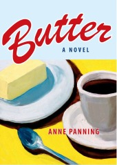 Book cover with my painting Tea and Butter
