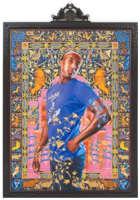 Kehinde Wiley, Portrait of Alios Itzhak