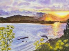 Bay at Sunset