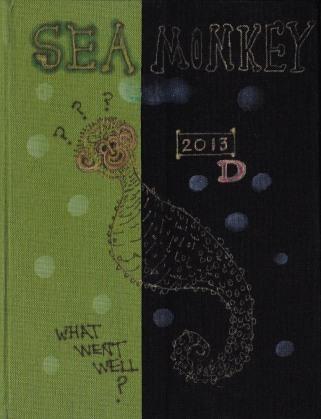 "Sea Monkey Journal Cover, 8x6"""
