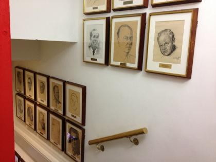 Society of Illustrators Staircase