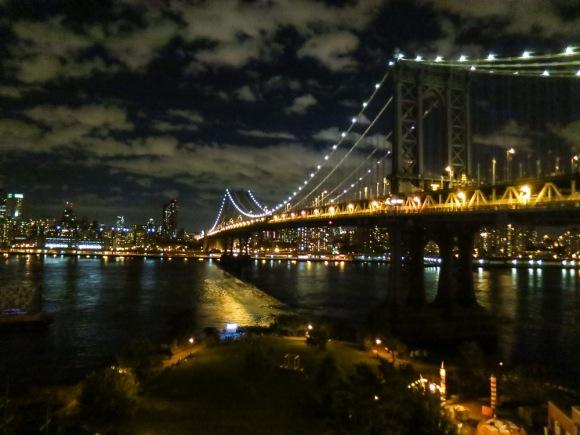 Rooftop View of the Manhattan Bridge