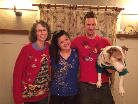 Tacky Holiday Sweater Contest Winners